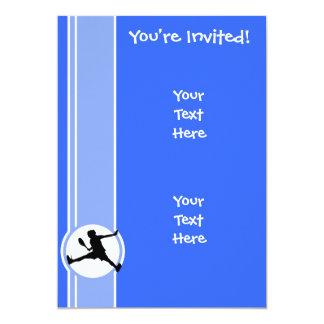 Tênis; Azul Convites Personalizados