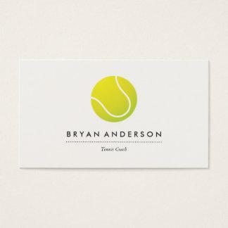 Tênis - cartão de assunto pessoal