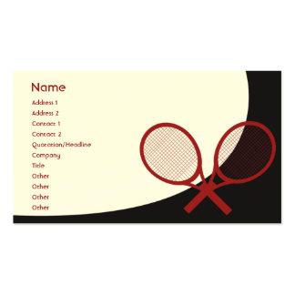 Tênis - clássico cartão de visita
