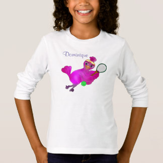 Tênis de Lila pelos Feliz Juul Empresa Camiseta