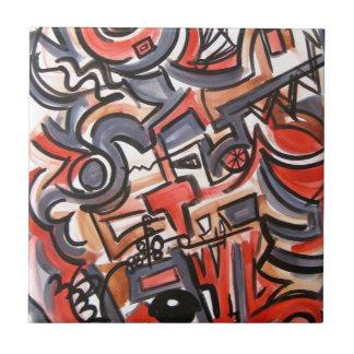 Tensão cósmica - arte abstracta