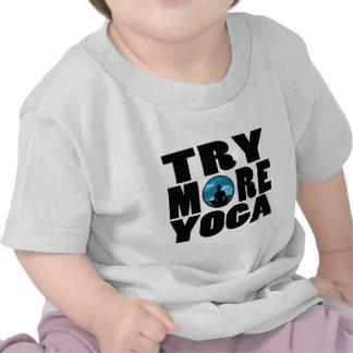 tentativa yoga png t-shirts