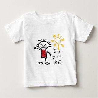 Tente seu melhor camisetas