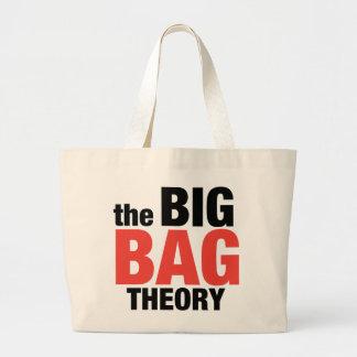 Teoria grande do saco bolsa tote grande