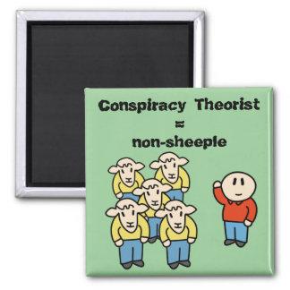 Teórico = non-sheeple da conspiração imã