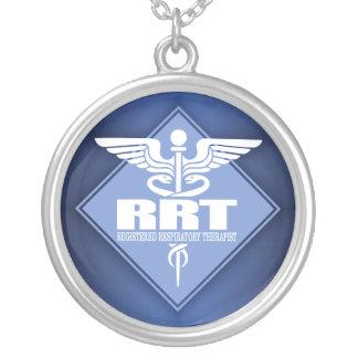 Terapeuta respiratório registrado RRT Colar Banhado A Prata
