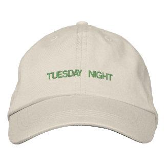 Terça-feira à noite chapéu boné