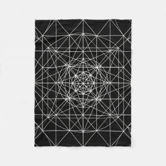 Terceira geometria sagrado templo dimensional/de cobertor de lã