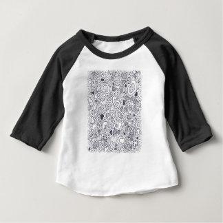 Terceiro fevereiro - dia do Doodle - dia da Camiseta Para Bebê