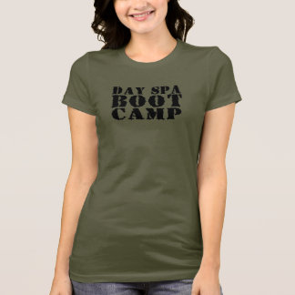 Termas Boot Camp do dia - T cabido Camo Camiseta