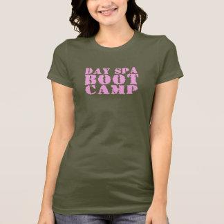 Termas Boot Camp do dia - T do rosa e do Camo Camiseta