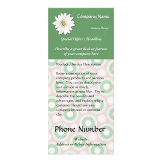 Termas feitos sob encomenda do cartão da cremalhei panfleto personalizado