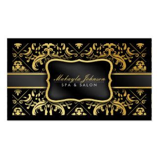 Termas modernos elegantes & salão de beleza do cartão de visita