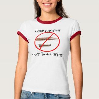 Termine a guerra - termine-a agora! camiseta