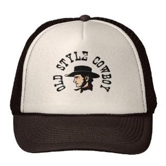 Termine com chapéu negro: Vaqueiro do estilo antig Boné