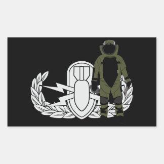 Terno da bomba do EOD Adesivos