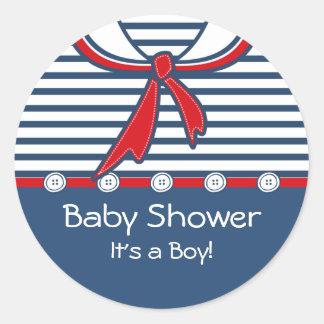Terno de marinheiro B do bebê Adesivo
