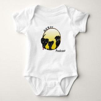 terno Miúdo-amigável do corpo do Podcast Body Para Bebê