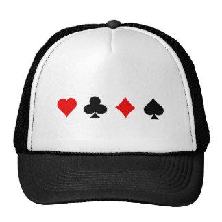 Ternos do cartão do vinte-e-um/póquer: Arte do vet Boné
