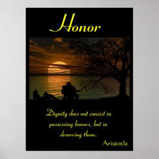 Terra 2 dos posters da honra