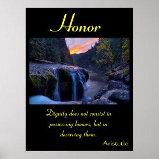 Terra 32 dos posters da honra