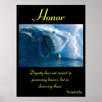 Terra 4 dos posters da honra
