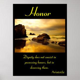 Terra 5 dos posters da honra