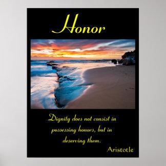 Terra 7 dos posters da honra