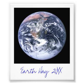 Terra Impressão De Foto