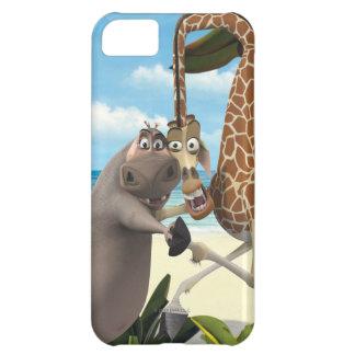 Terra arrendada de Gloria e de mão de Melman Capa Para iPhone 5C