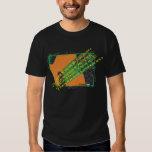 Terra da Dinamarca Minha da samba, campeonato do T-shirt