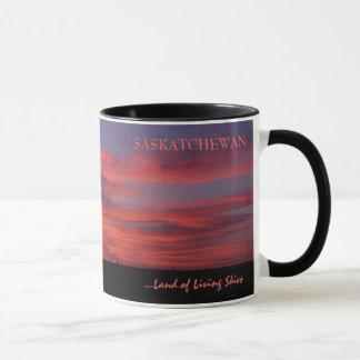 Terra de caneca de café viva dos céus