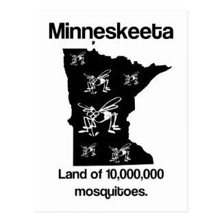 Terra de Minneskeeta do cartão engraçado do