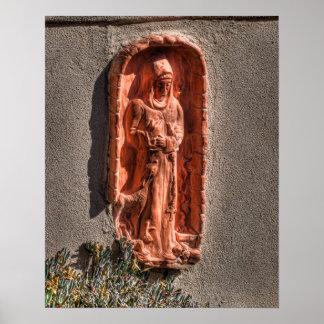 Terra de St Francis - impressão do cotta/impressão