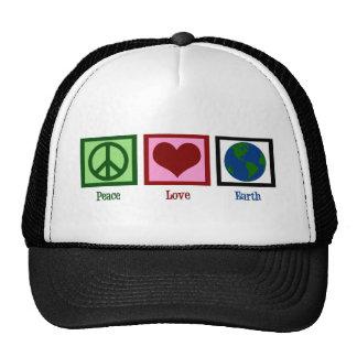 Terra do amor da paz boné
