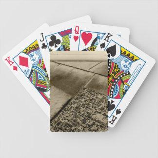 Terra do ar baralho de poker