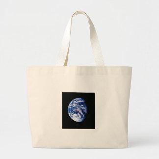 Terra do planeta bolsas de lona