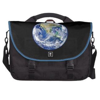 Terra do planeta mala para notebook