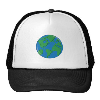 Terra do planeta boné