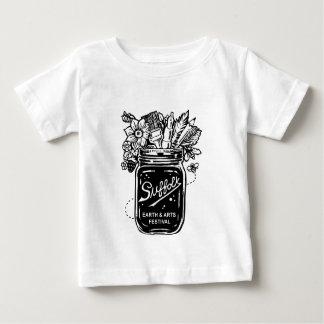 Terra do Suffolk e festival de artes 2017 Camiseta Para Bebê