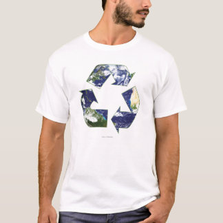 Terra - reciclagem camiseta