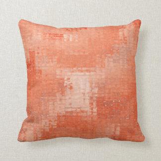 Terra - travesseiro afligido cotta 16x16 do Grunge Almofada