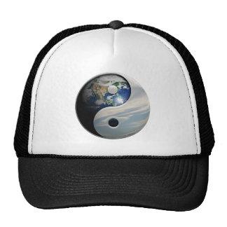 Terra Yin e símbolo de Yang Boné