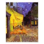 Terraço do café de Vincent van Gogh em belas artes Impressão De Foto