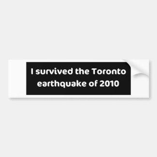TERREMOTO Toronto Adesivo Para Carro