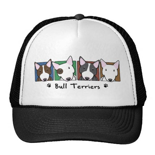 Terrier de Bull coloridos dos desenhos animados Bones