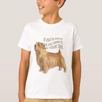 terrier de norfolk camiseta