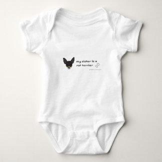 terrier de rato body para bebê