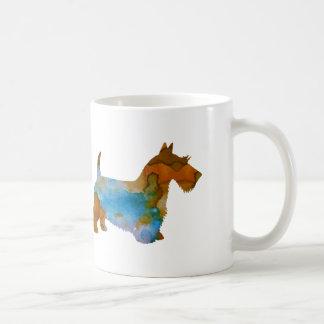 Terrier escocês caneca de café