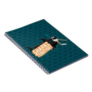 Território dos tubarões - caderno